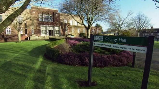 Dorset county council buildings