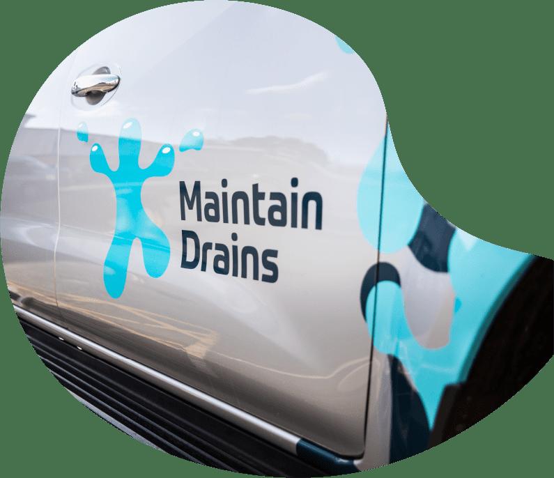 Maintain Drains van