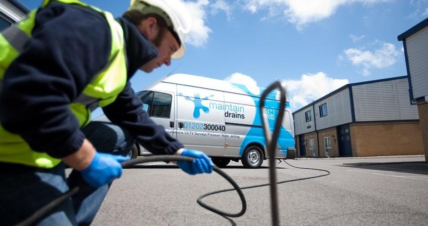 CCTV drain surveys Poole