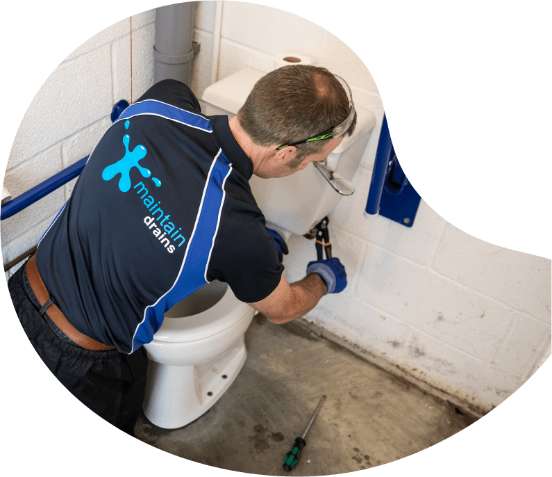 Maintain Drains plumber conducting Septic Tank Maintenance