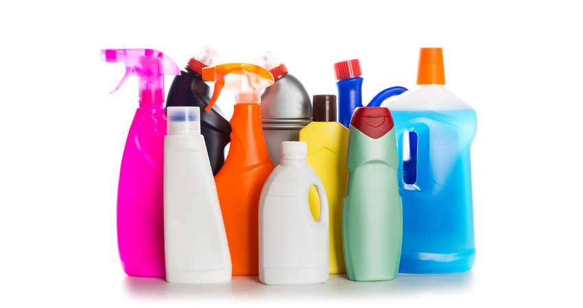 Assortment of Chemical Drain Cleaners
